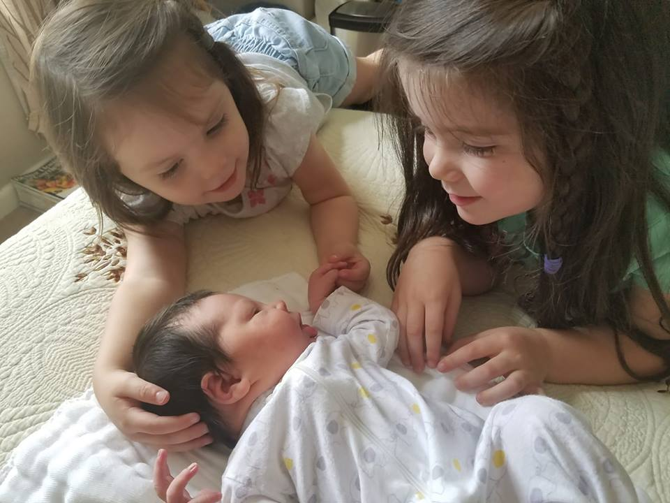 All three girls